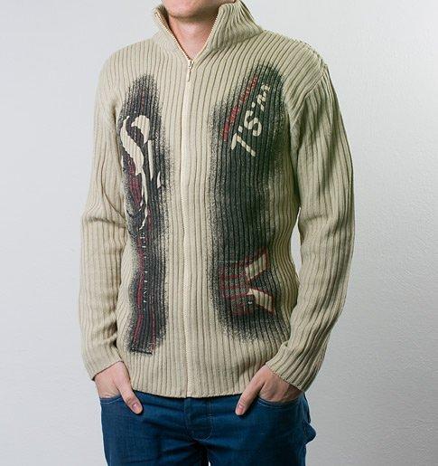 béžový svetr