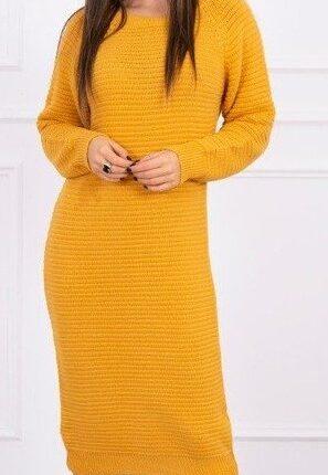 šaty hořčice